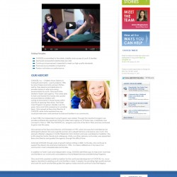 Choices Foster Care - About Us page